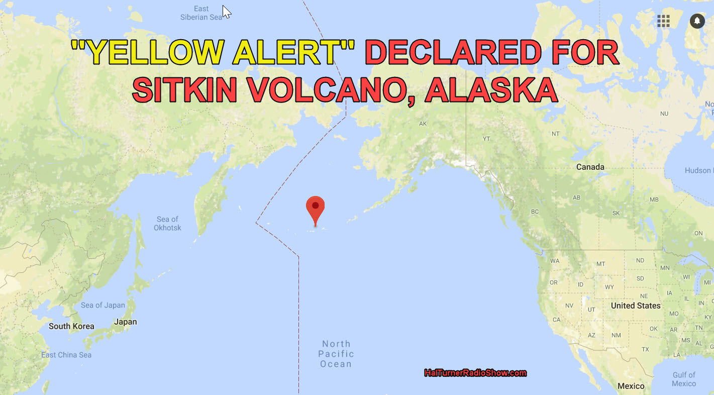 alaska volcano observatory issues yellow alert as sitkin volcano suddenly vents steam and gas mexico also issues yellow alert for popocatepetl