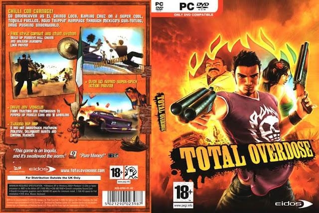 تحميل لعبة الاكشن والمغامرات وضرب النار الخفيفة Total Overdose PC مضغوطة بحجم 460 ميجا فقط وعلى رابط واحد من ميديافاير