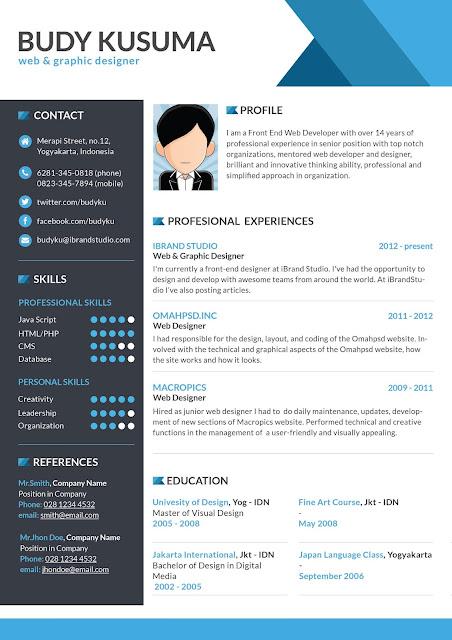 Download Curriculum Vitae CV Resume Templates IT Classes