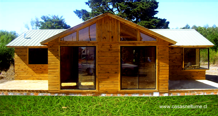 Casas de madera prefabricadas construcciones economicas y for Casas sencillas y economicas