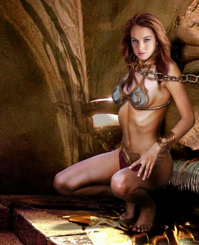 Slave Leia Cosplay 1, posted on Friday, 01 August 2014