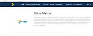 Detay Maxinet Turkcell ile iş ortağı