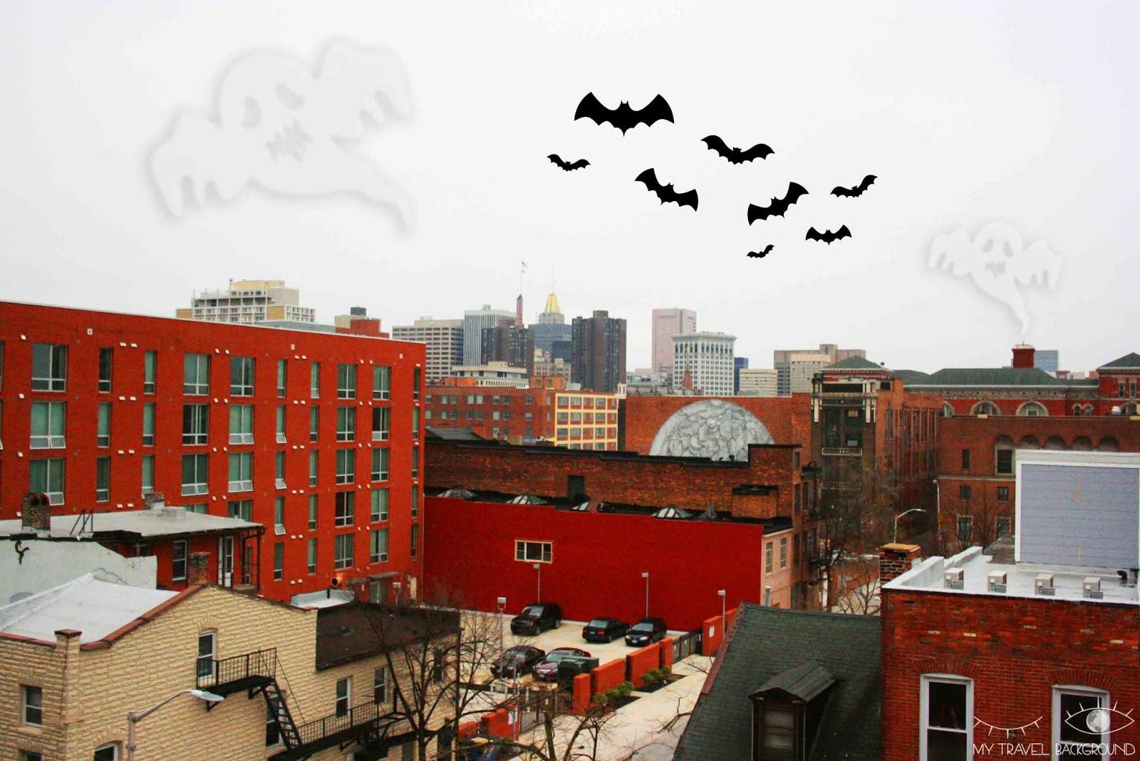 My Travel Background : le jour où j'ai dormi dans un hôtel hanté à Baltimore aux Etats-Unis