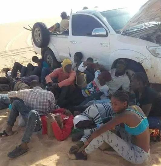 nigerians ghanaians die dehydration in sahara desert