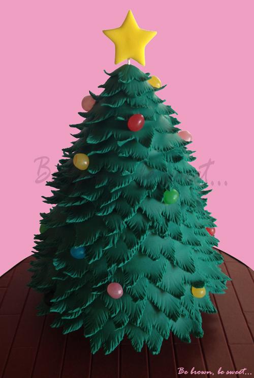 Be brown, be sweet: Tarta Árbol de Navidad (Vídeo-tutorial Tarta Abeto)