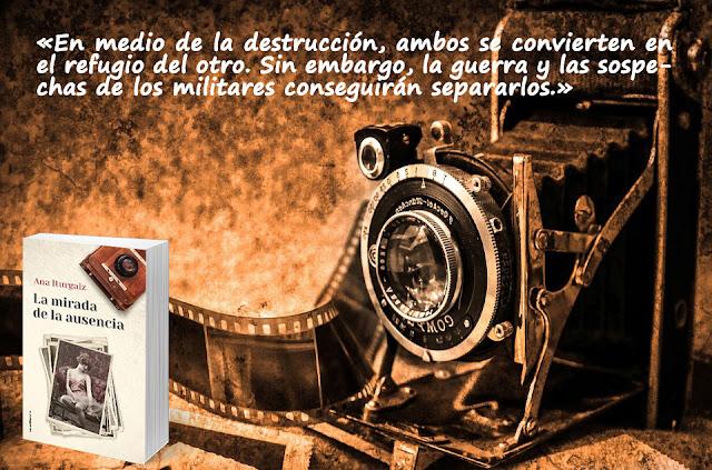 Novedad Roca Editorial. La mirada de la ausencia. Ana Iturgaiz. Blog Negro sobre Blanco. Loreto