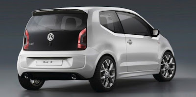 Volkswagen Up! back side hd image