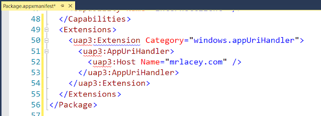 App URI Handlers in UWP Apps: Open Your Website With Your App