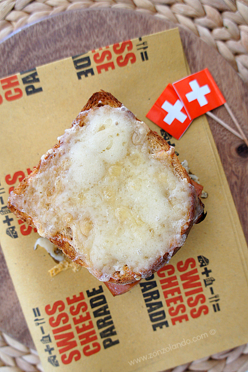 Croque suisse panino formaggio  wurstel super tasty cheese and frankfurter sandwich recipe