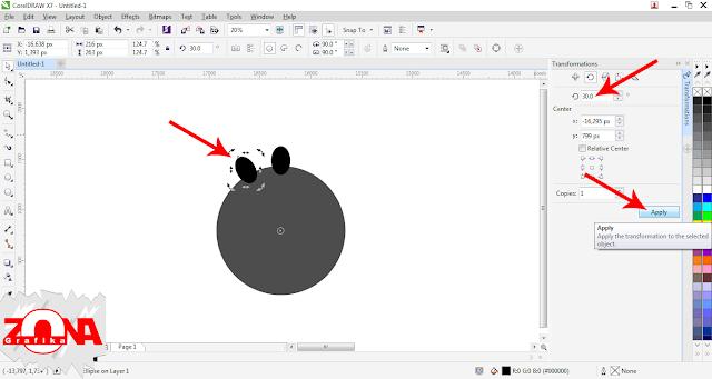 Cara Membuat Roda Gigi/Gear dengan Corel Draw X7