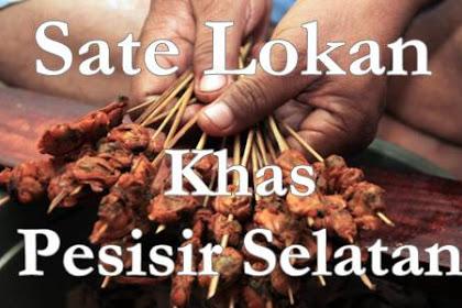 Kuliner Khas Daerah Pesisir Selatan Sate Lokan Yang Wajib di Coba