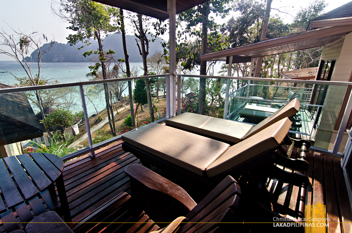 Bayview Resort Phi Phi Balcony