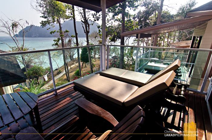 Bayview Resort Phi Phi Balcony