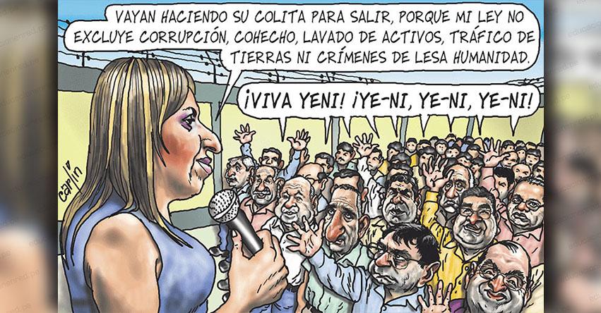 Carlincaturas Lunes 15 Octubre 2018 - La República