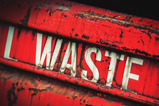 Waste Skip by Sean Gladwell
