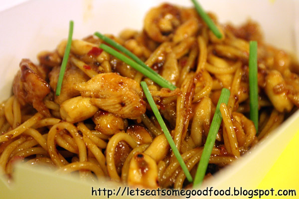 Charlie+Chan+Chicken+Pasta - Midnight Snack – Dear Darla At Yellow Cab