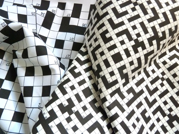 Crossword Fabric