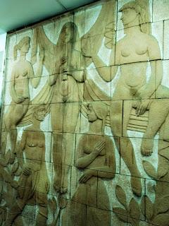 Painel Cerâmico de Fernando Corona, 1955