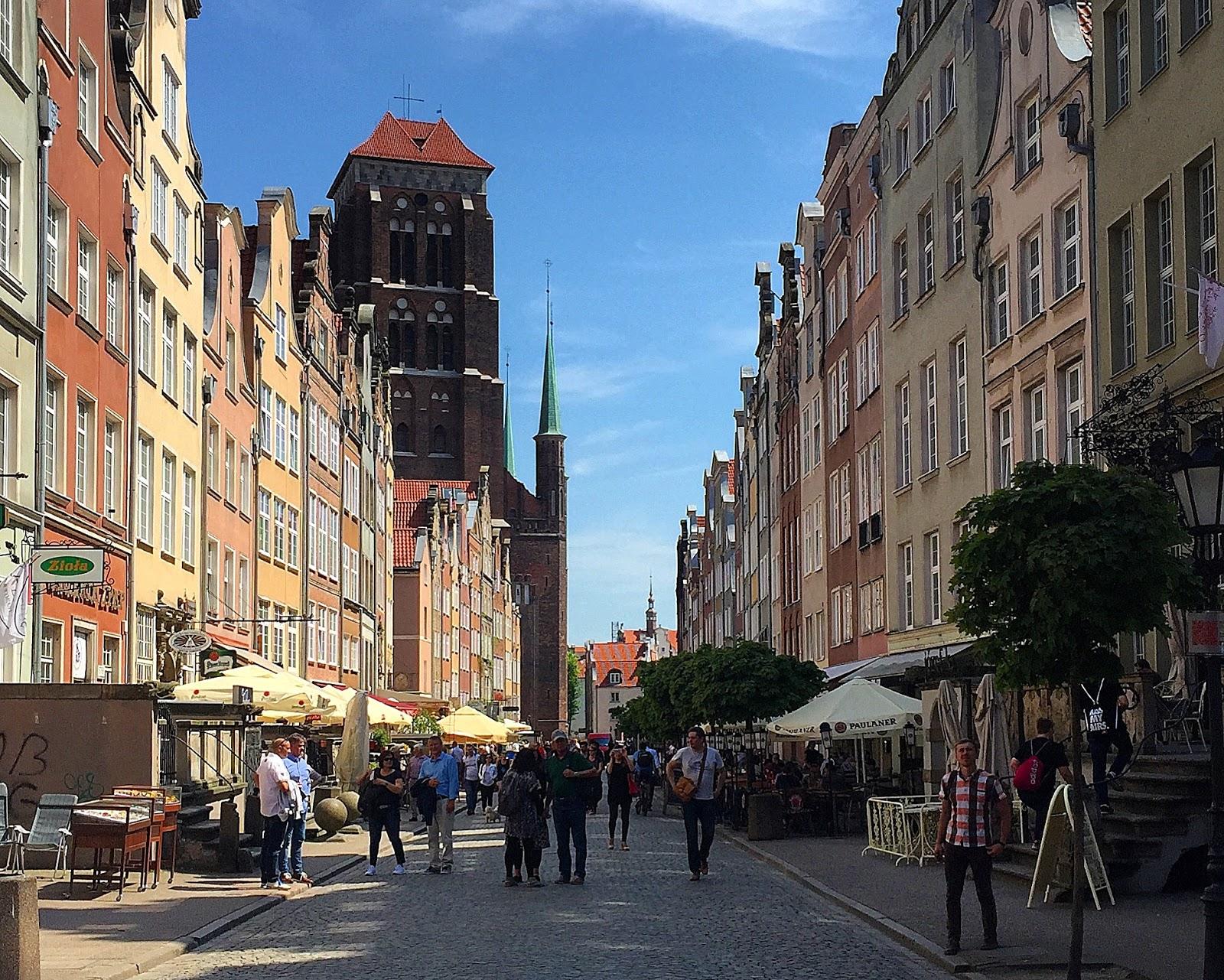 ulica Piwna Gdańsk Stare miasto