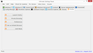 Ultimate Settings Panel - Version 3.0 Released 13