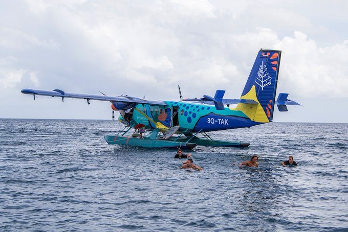 The Action Takes Off At Four Seasons Maldives Surfing Champions Trophy