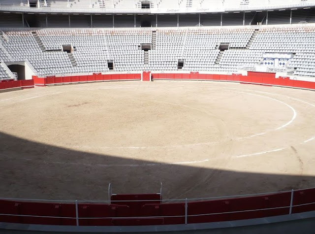 arena della plaza de toros monumental a barcellona