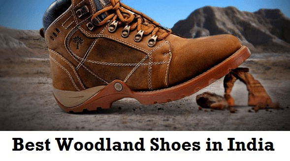 Best Woodland Shoes in India