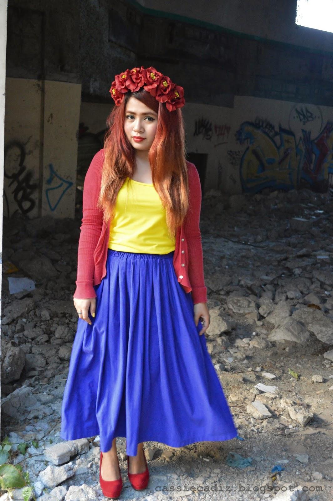 Snow white pinay student