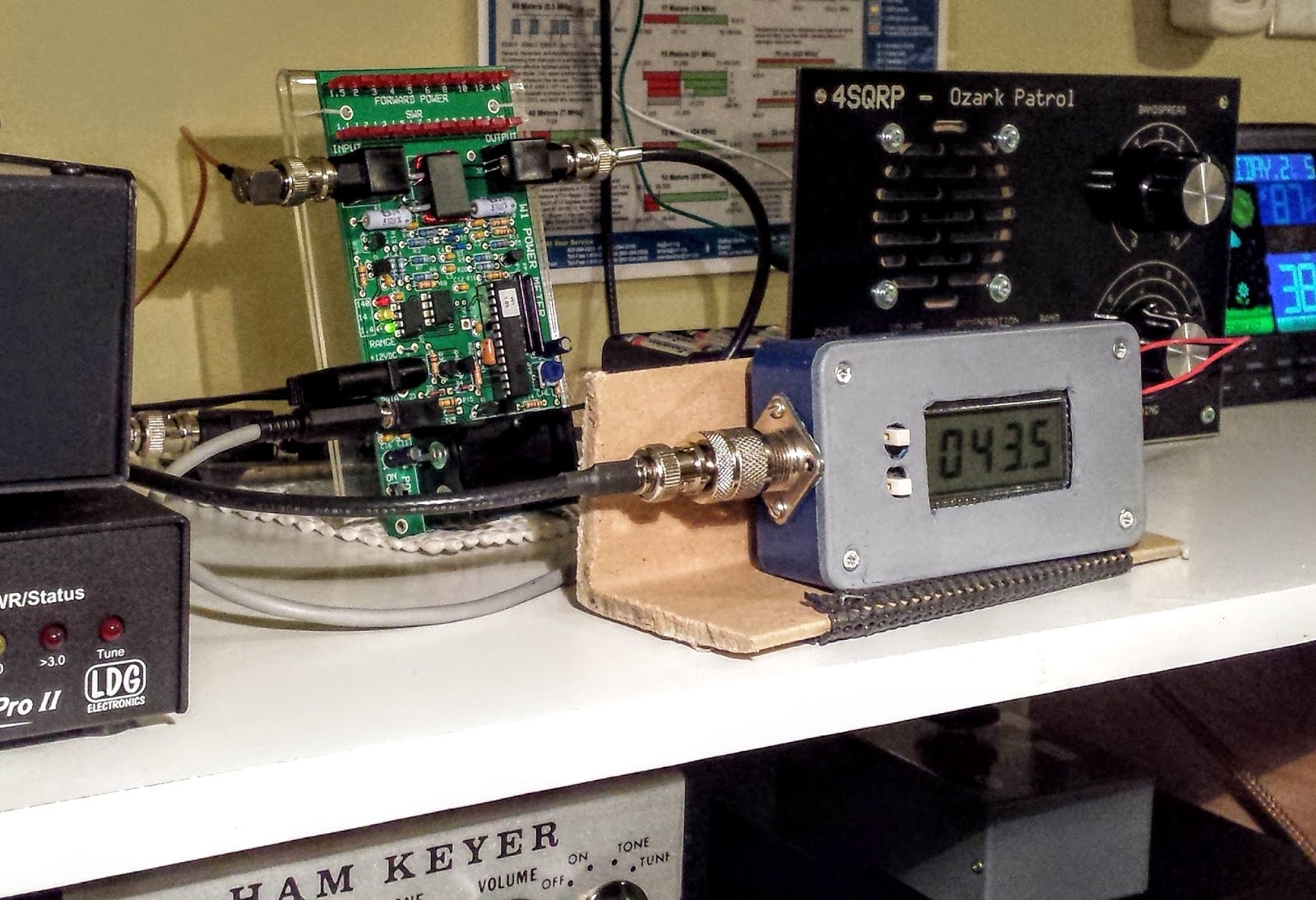 Directional Frequency Counter : Ham radio qrp making use of elecraft mini module kits