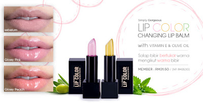 lip color/ changing lip balm Sendayu Tinggi