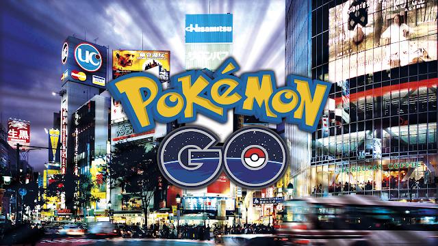 Wallpaper do Pokemon GO Tokyo