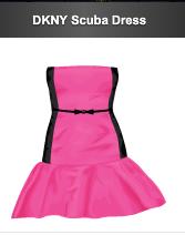 stardoll DKNY Scuba Dress