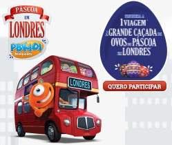 Cadastrar Promoção PBKids Páscoa 2018 Em Londres Viagem Pacote
