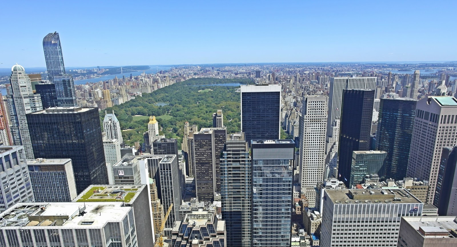 view of NYC, Rockefeller centre