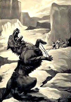 La leyenda del lobo Fenrir-Ragnarok-simbolos nordicos