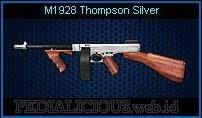 M1928 Thompson Silver