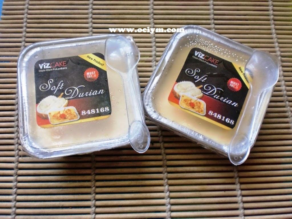 Soft Durian Ala Viz Cake Pekanbaru