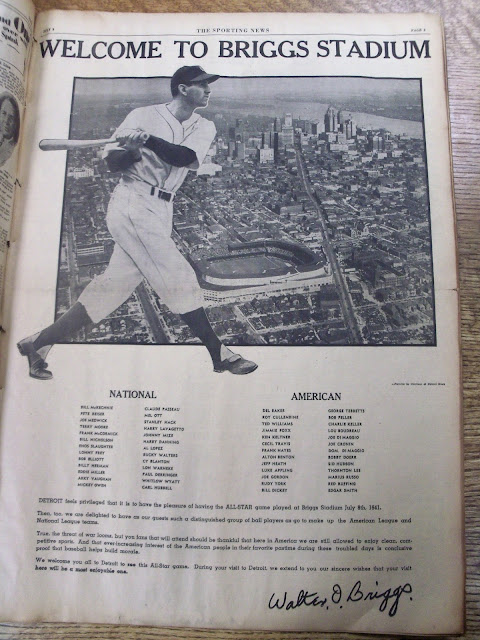 The Sporting News- Detroit All-Star Game Issue 3 July 1941 worldwartwo.filminspector.com