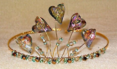 diy tiara workshop
