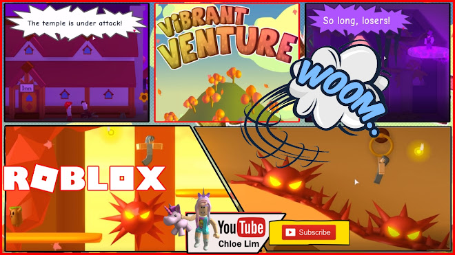 Roblox Vibrant Venture Gameplay! FUN and RAGING GAME! VERY LOUD SCREAM WARNING!