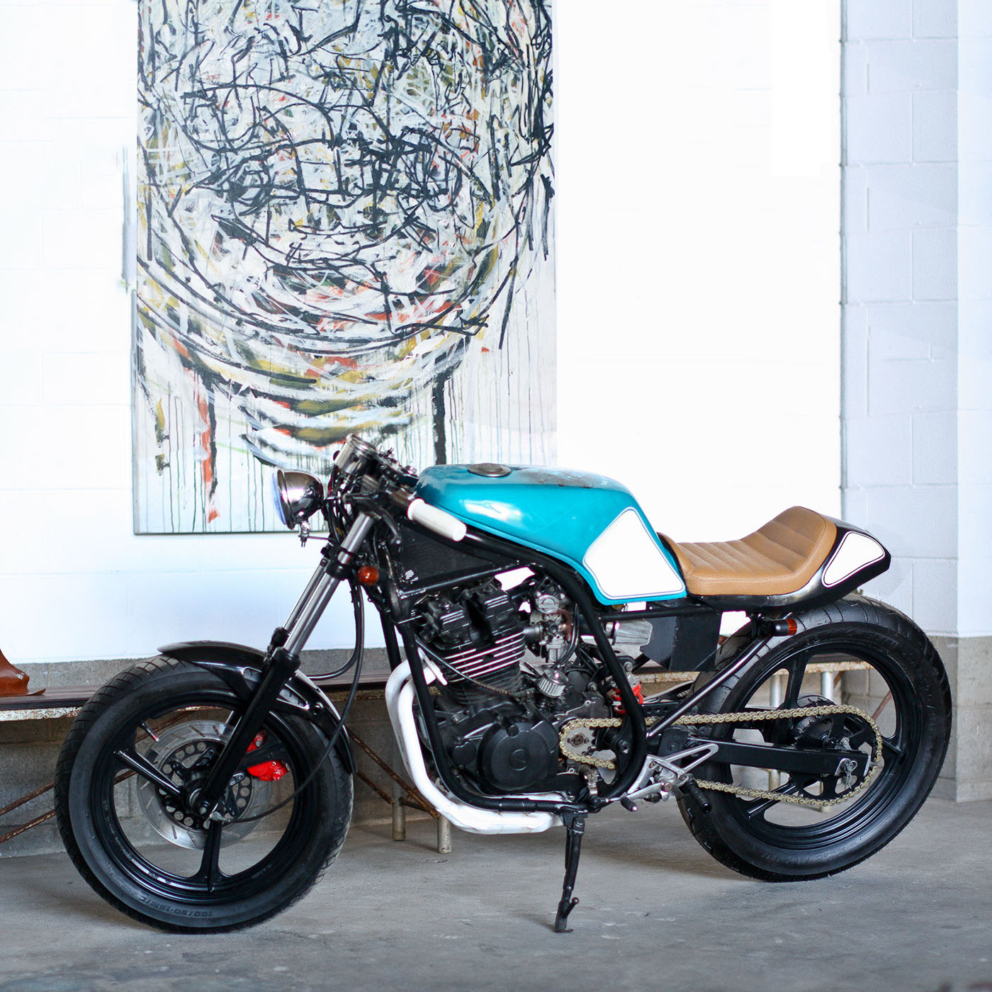Lane Splitter: The Experiment - Yamaha SRX250 Cafe Racer