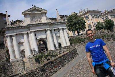 San Giacomo Gate in Bergamo