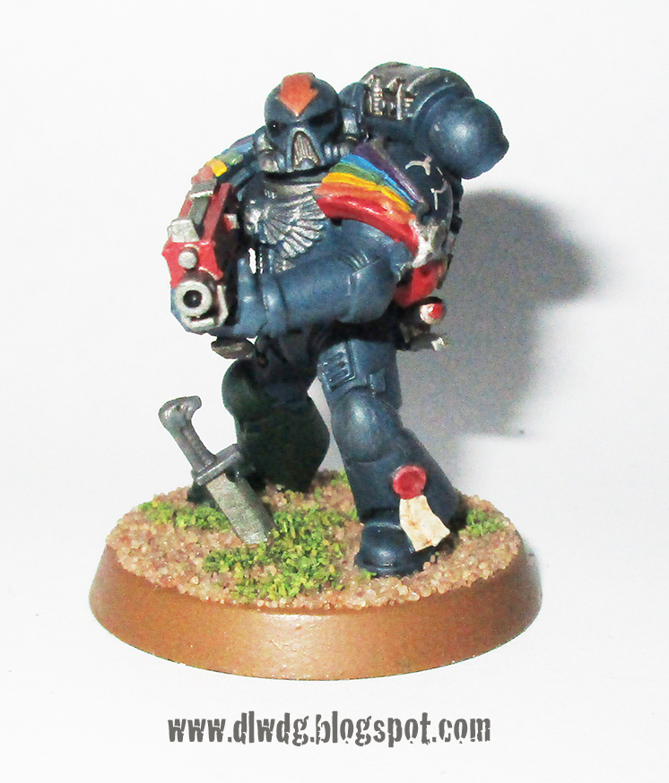 Power Armour LEGS - Burning of Prospero 3 D Space Marine Mark III