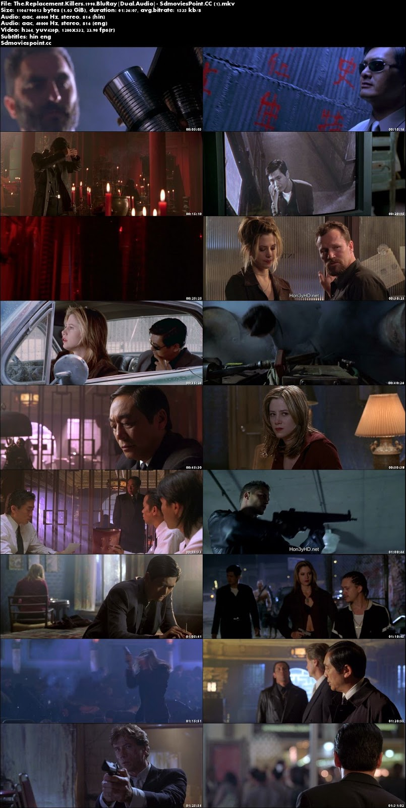 screen shot The Replacement Killers 1998 Dual Audio 720p BRRip 1.03Gb x264