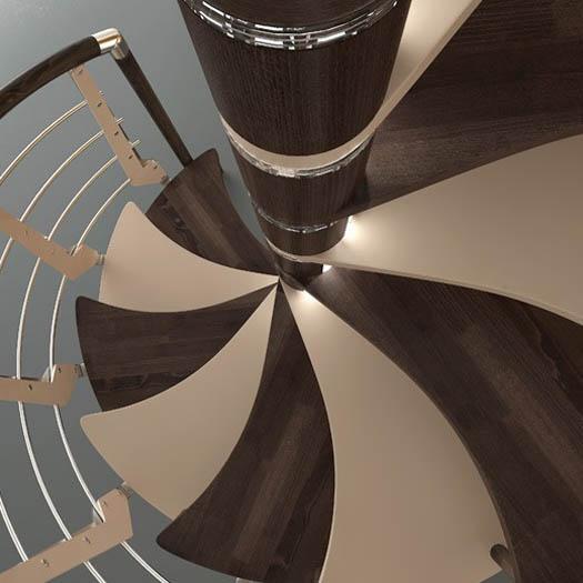 spiral stair design ideas