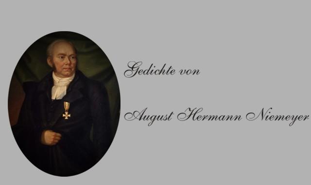 Porträt des Dichters Niemayer