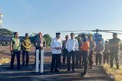 Kapolda NTB Dampingi Presiden kunjungi Korban Gempa