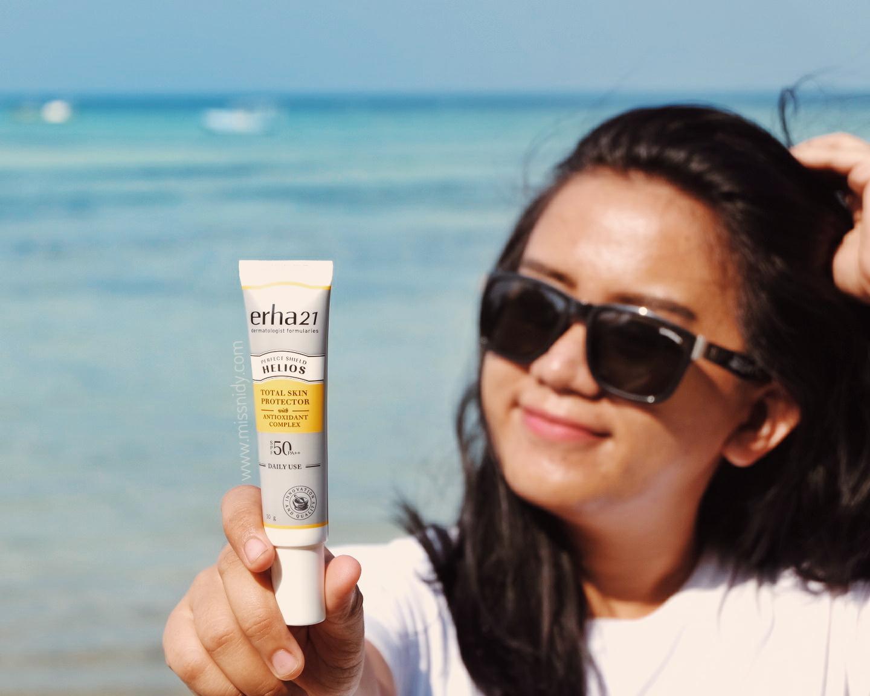 sunscreen spf 50 untuk travelling