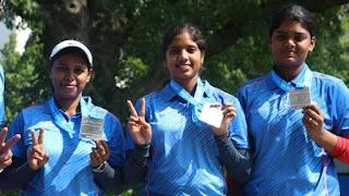 Indian Women's Compound Archery Team Reaches World Rank 1