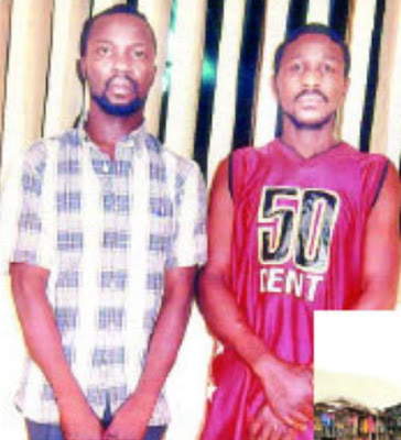 nigerian policemen arrested kidnap boy